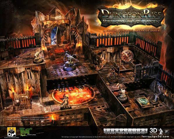 Terra Clips Dungeon Rise Prison of the Forsaken