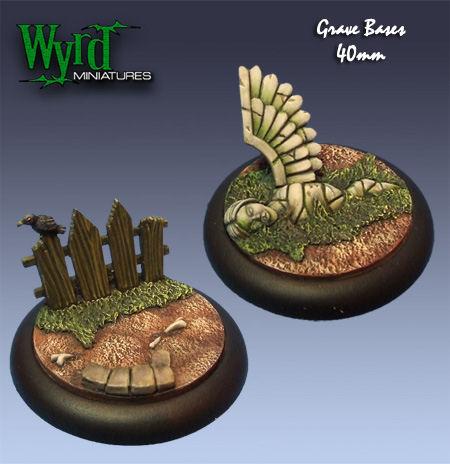 Graveyard Bases - 40mm (2 pack)
