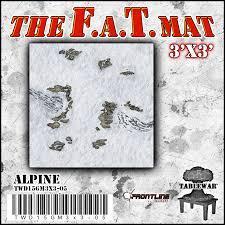 3'x3' Alpine F.A.T Mat