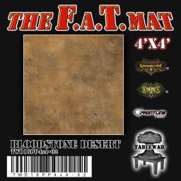 4'X4' Bloodstone Desert F.A.T Mat