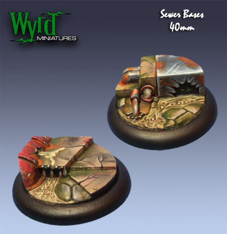 Sewer Bases - 40mm (2 pack)