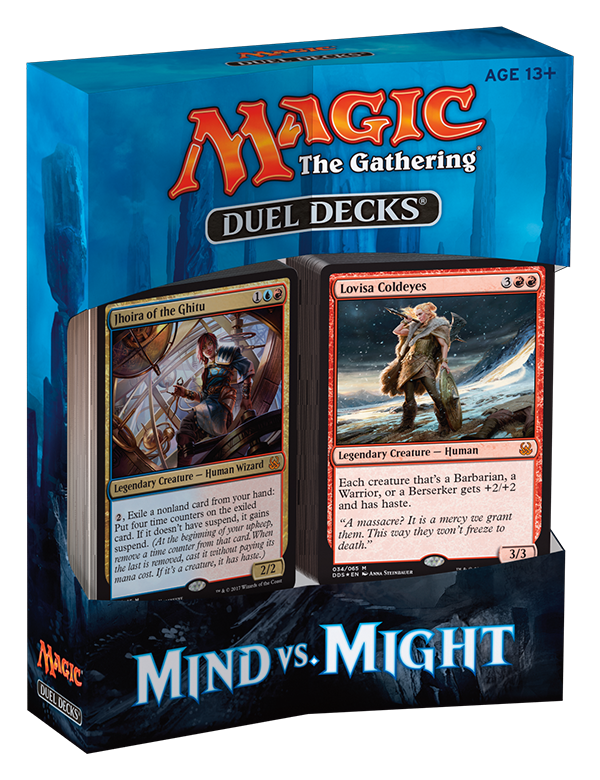 Magic: The Gathering Duel Decks: Mind vs. Might