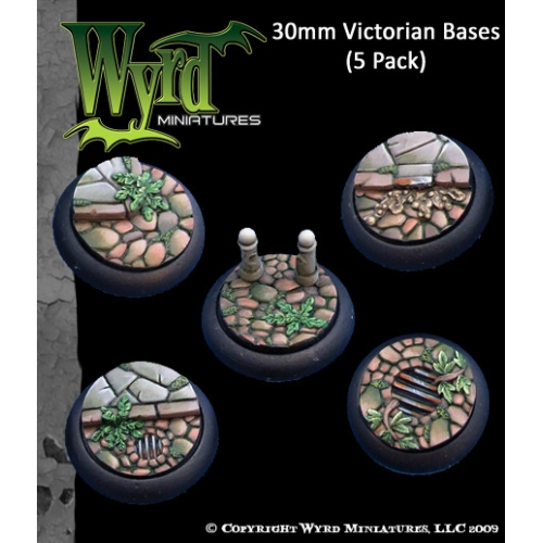 Victorian Bases - 30mm (5 pack)