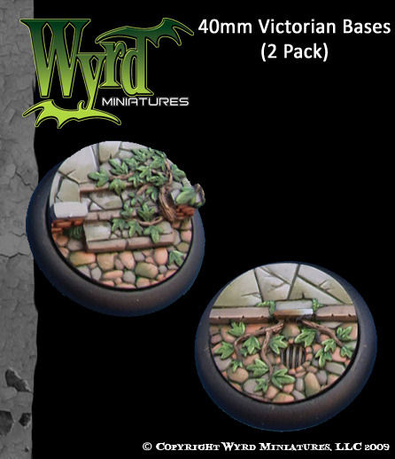 Victorian Bases - 40mm (2 pack)