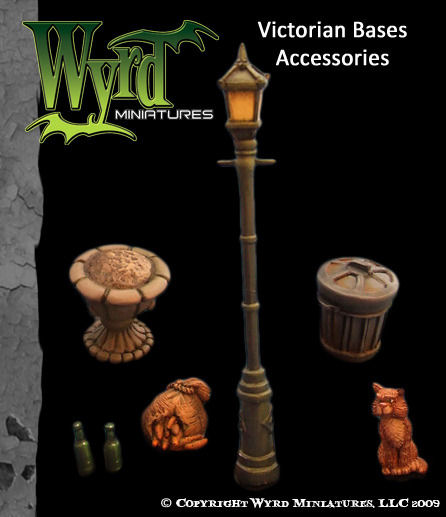 Victorian Bases - Accessories