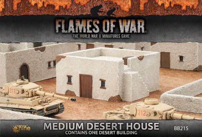 Medium Desert House (x1)