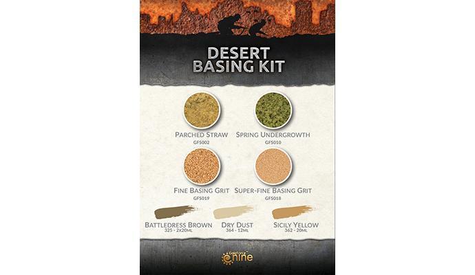 Desert Basing Kit