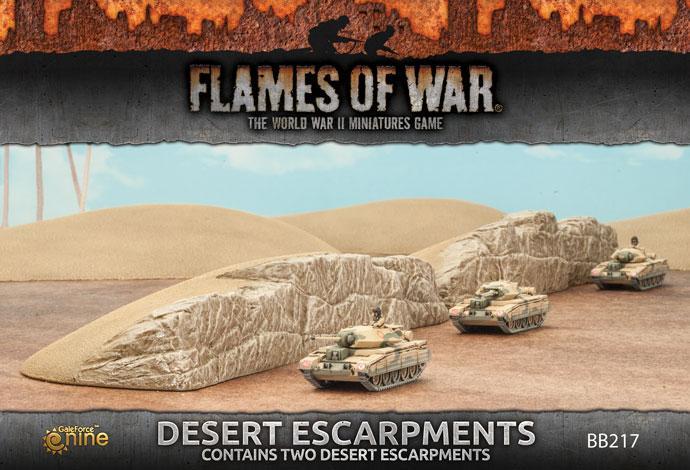 Desert Escarpments (x2)