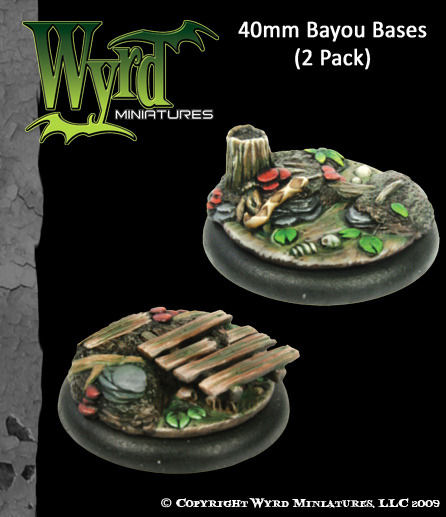 Bayou Bases - 40mm (2 pack)