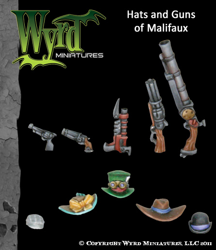 Hats and Guns of Malifaux - Accessories