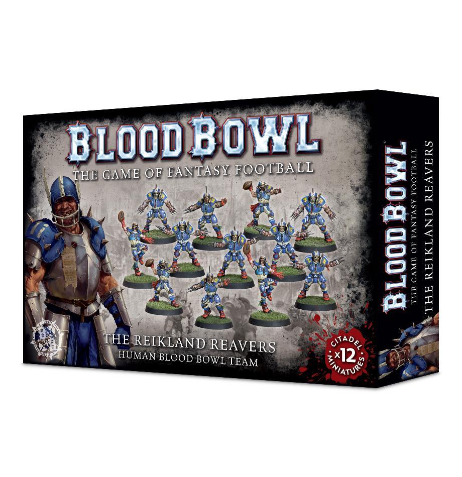 The Reikland Reavers: Human Blood Bowl Team