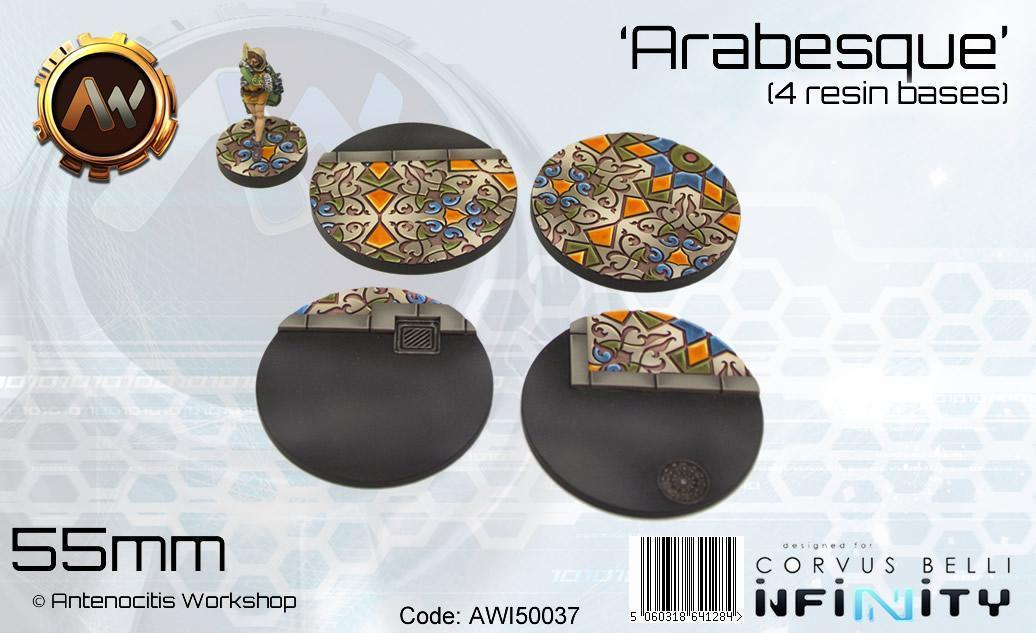 Arabesque Bases 55mm