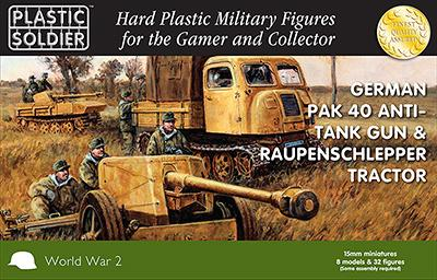 15mm Pak 40 and Raupenschlepper Ost