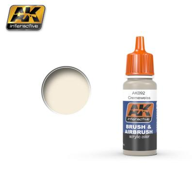 AK Interactive 17ml - RAL 9001 Cremeweiss