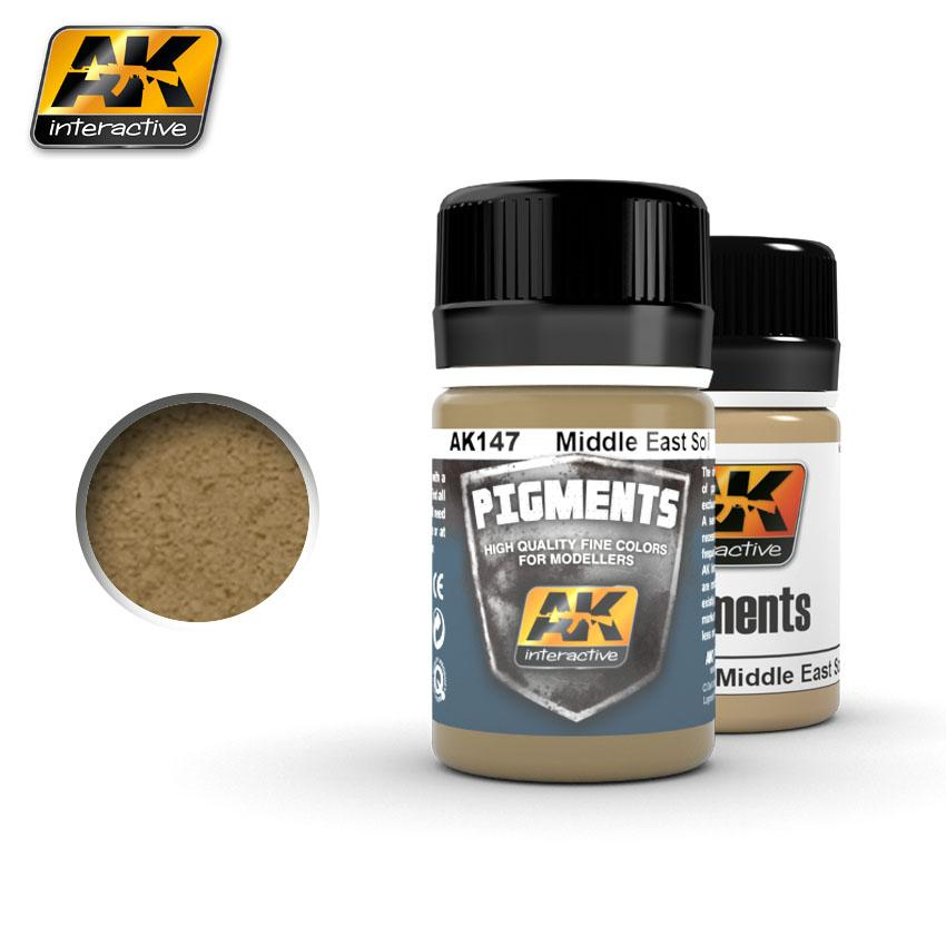 AK Interactive Pigments - Middle East Soil