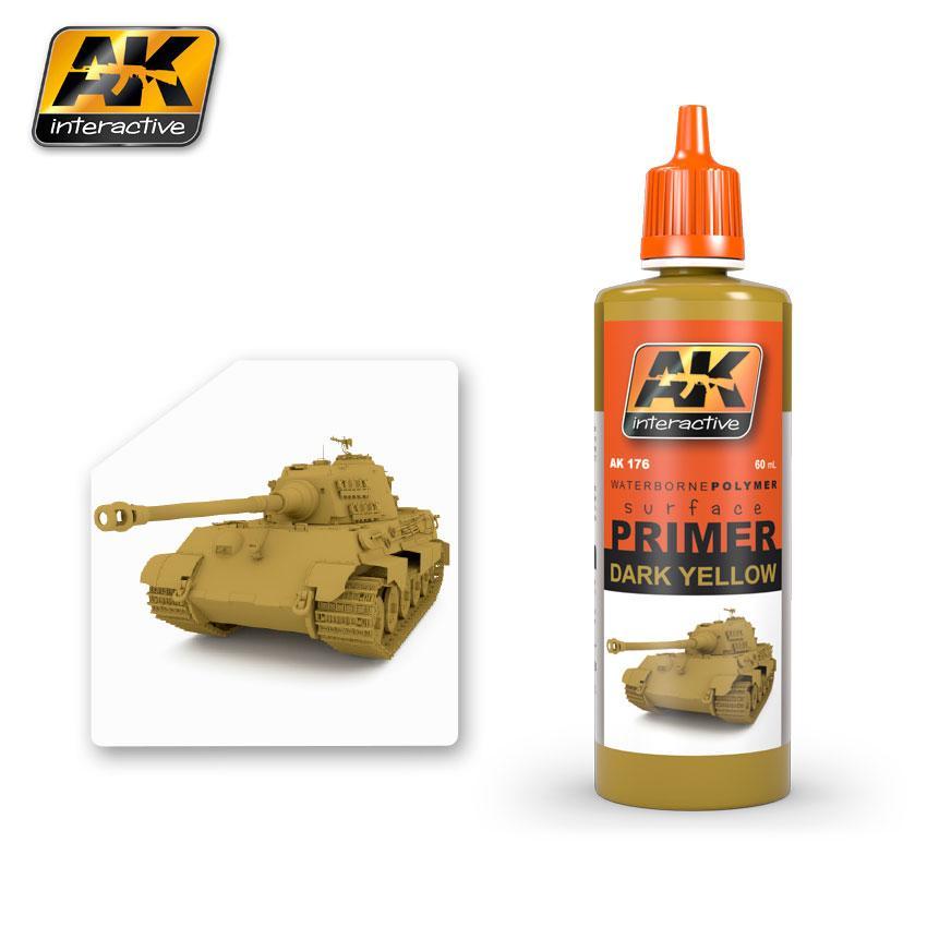 AK Interactive - Dark Yellow Primer 60ml