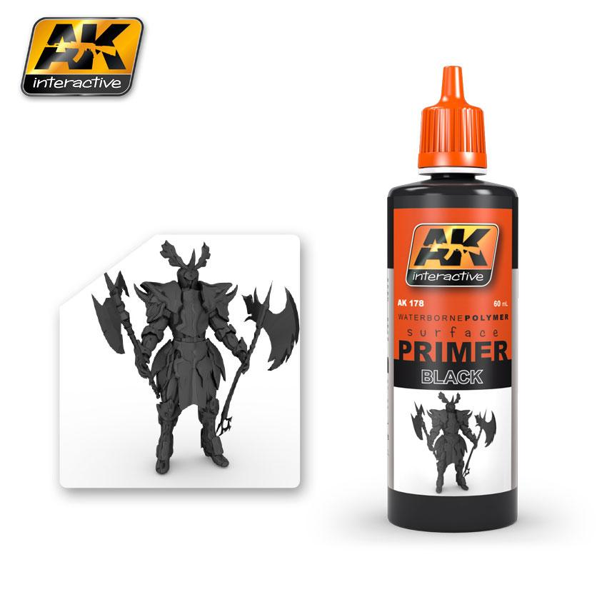 AK Interactive - Black Primer 60ml