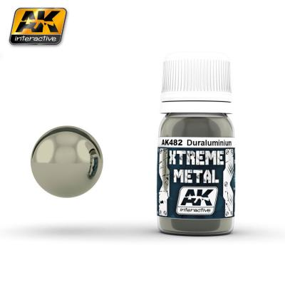 Ak Extreme Metal Paint 30ml -Duraluminium
