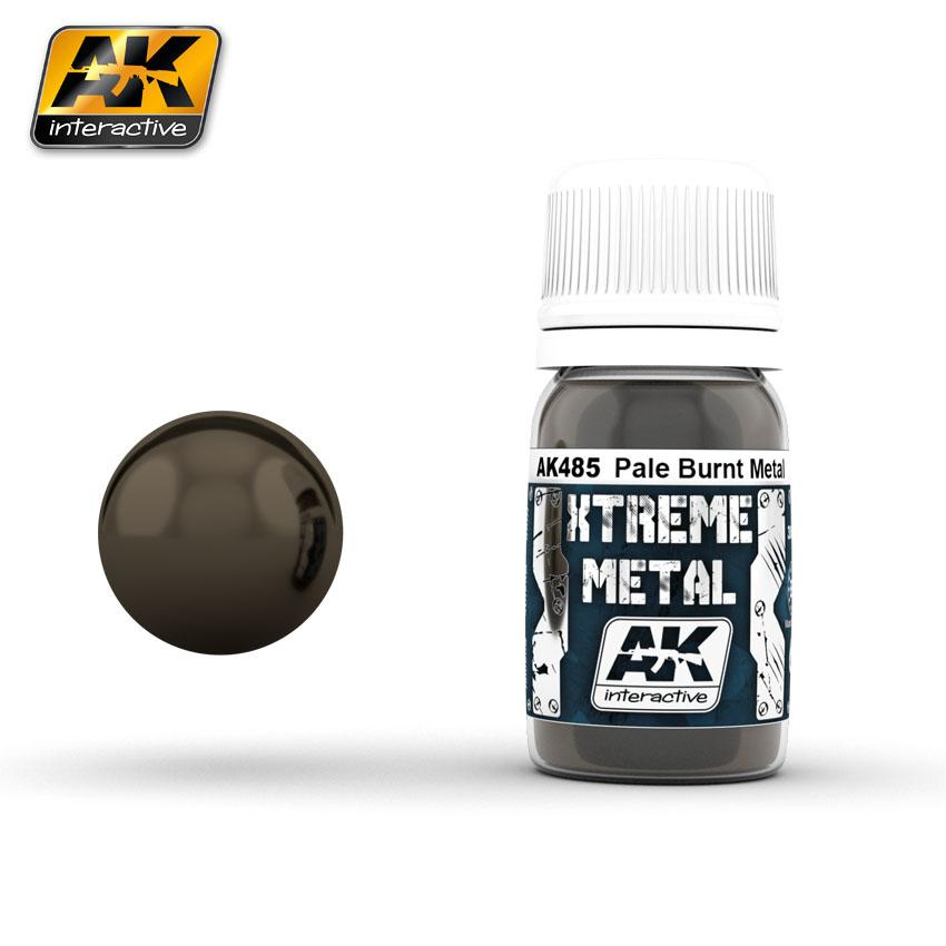 Ak Extreme Metal Paint 30ml -Pale Burnt Metal