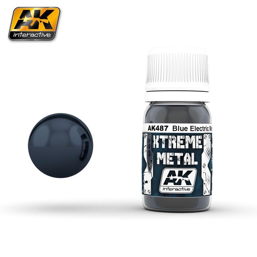 Ak Extreme Metal Paint 30ml -Metalic Blue