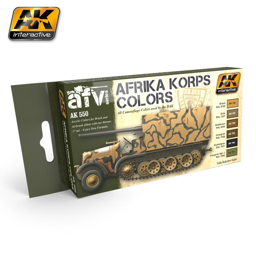 AK Interactive -Afrika Korps Color Set