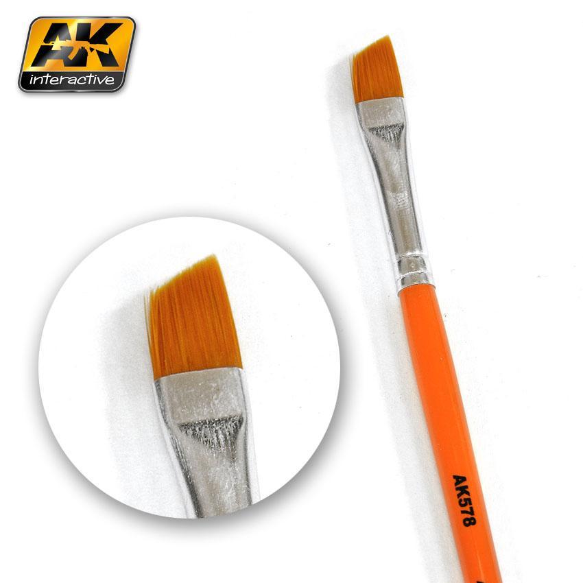 AK Interactive Brushes - Weathering Brush Diagonal