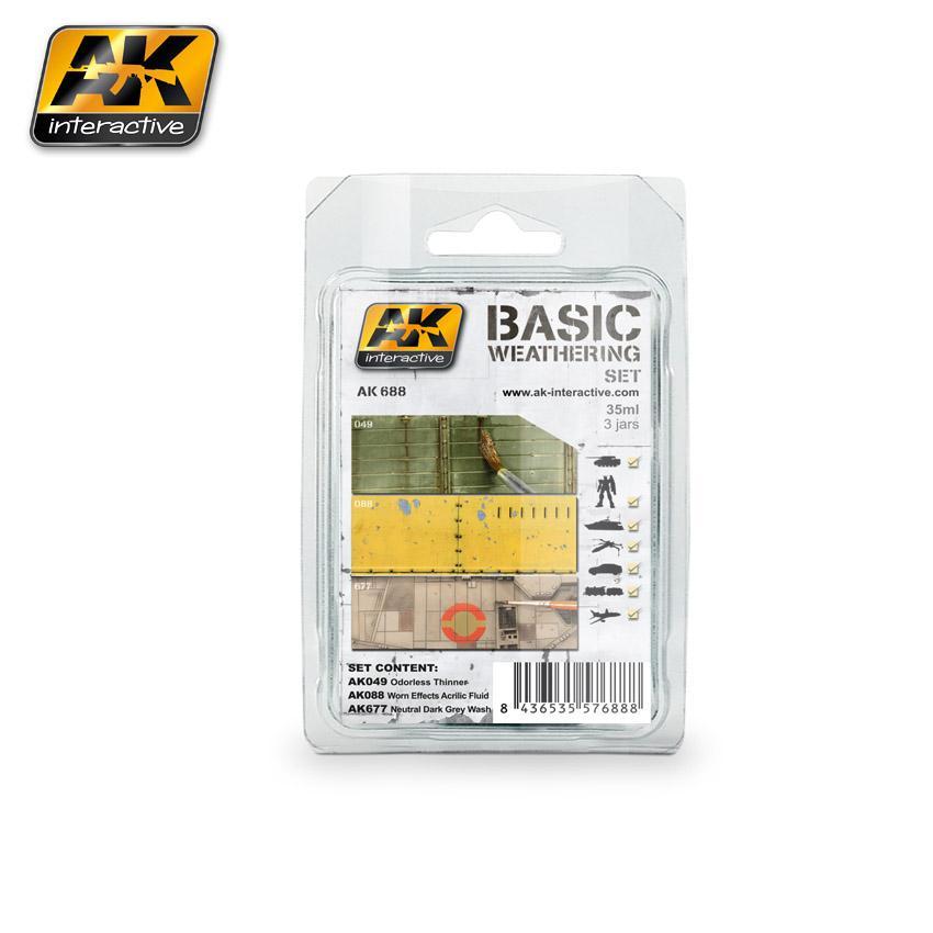AK Interactive - Basic Weathering Set