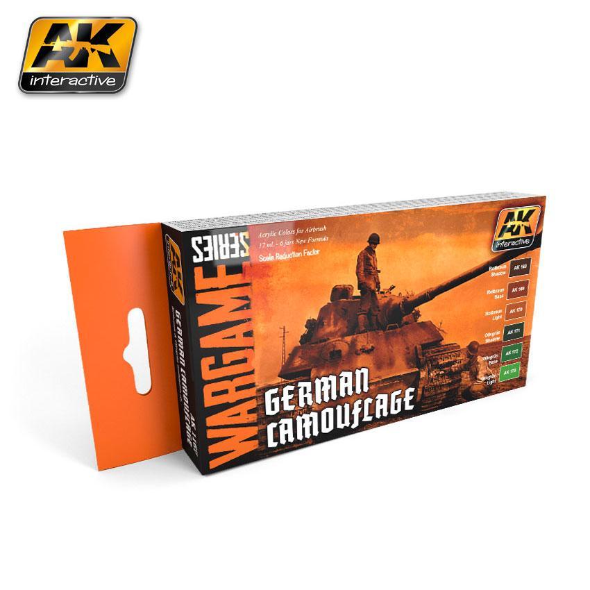 AK Interactive - German C amouflage Set (Wargame Series)