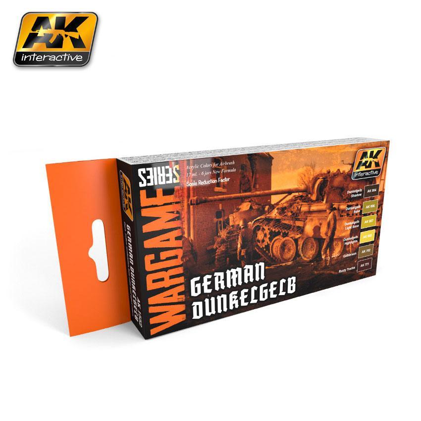 AK Interactive - German D unkelgelb Set (Wargame Series)
