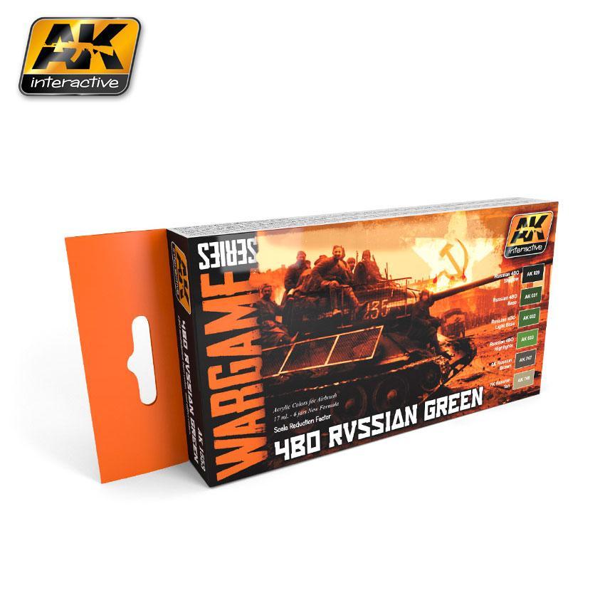 AK Interactive - Russian Green Set (Wargame Series)