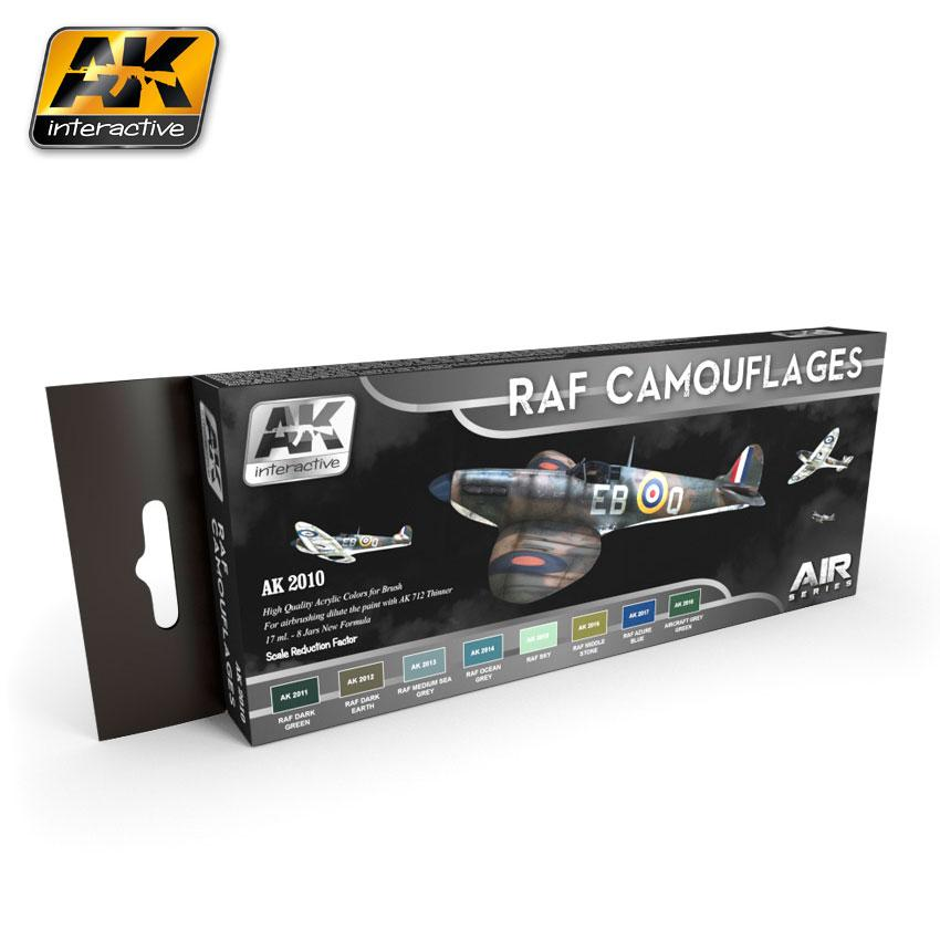 AK Interactive - RAF Camouflage Colours Set
