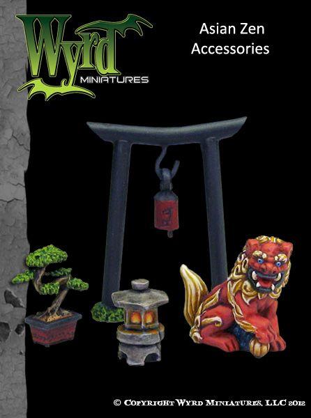 Asian Zen Base Accessories