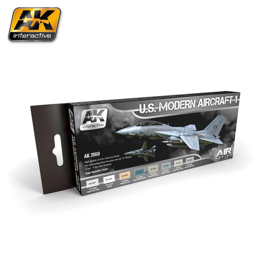 AK Interactive - US Modern Aircraft 1