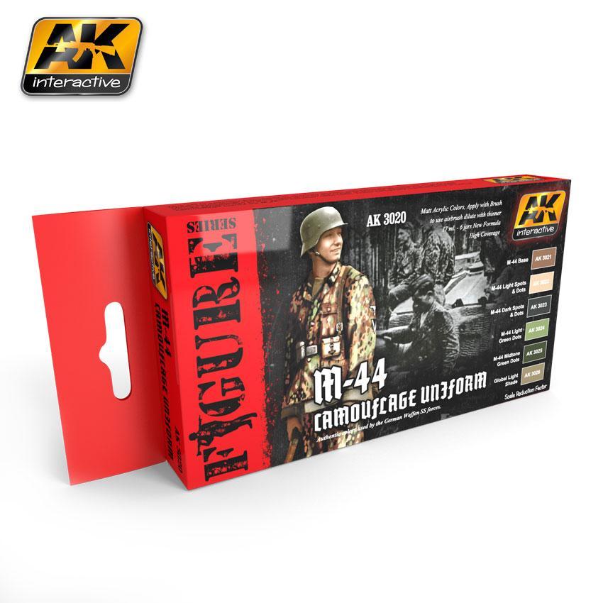 AK Interactive - M-44 Camouflage Uniforms