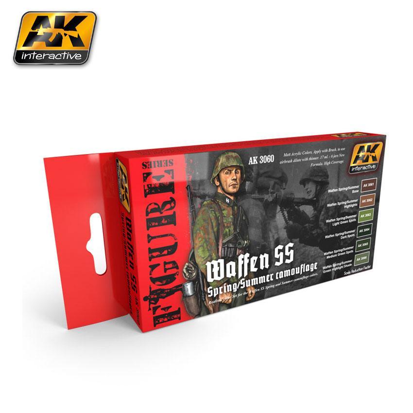 AK Interactive - Waffen SS Fall / Summer Camouflage Set