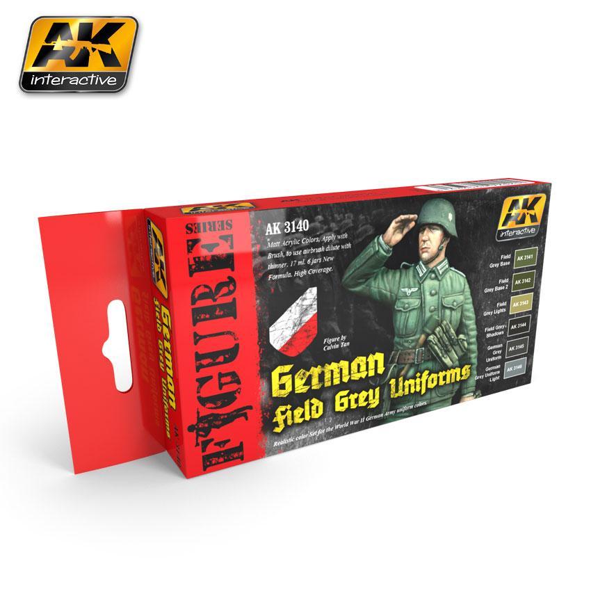 AK Interactive - German Field Grey Uniforms