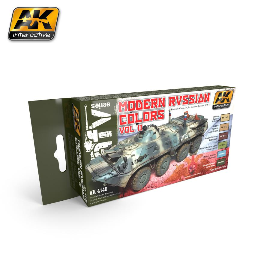 AK Interactive - Modern Russian Colours Vol.2 Set