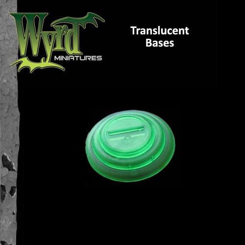 Green Translucent Bases 50mm 3