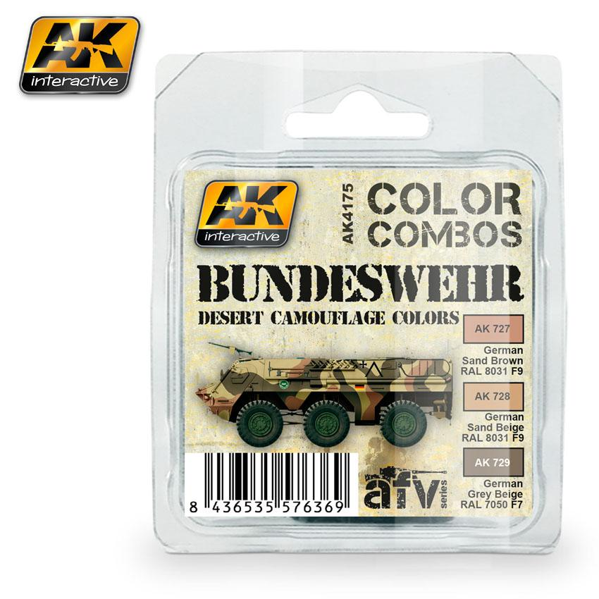 AK - Bundeswehr Desert Camouflage Color Combo Set