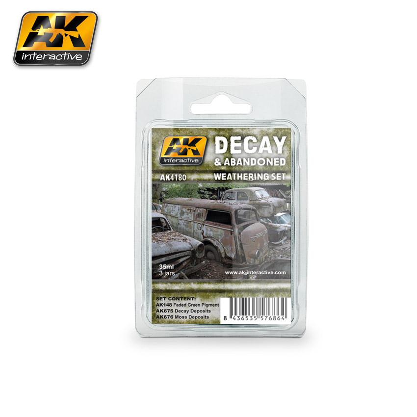 AK Interactive - Decay and Abandoned Weathering Set