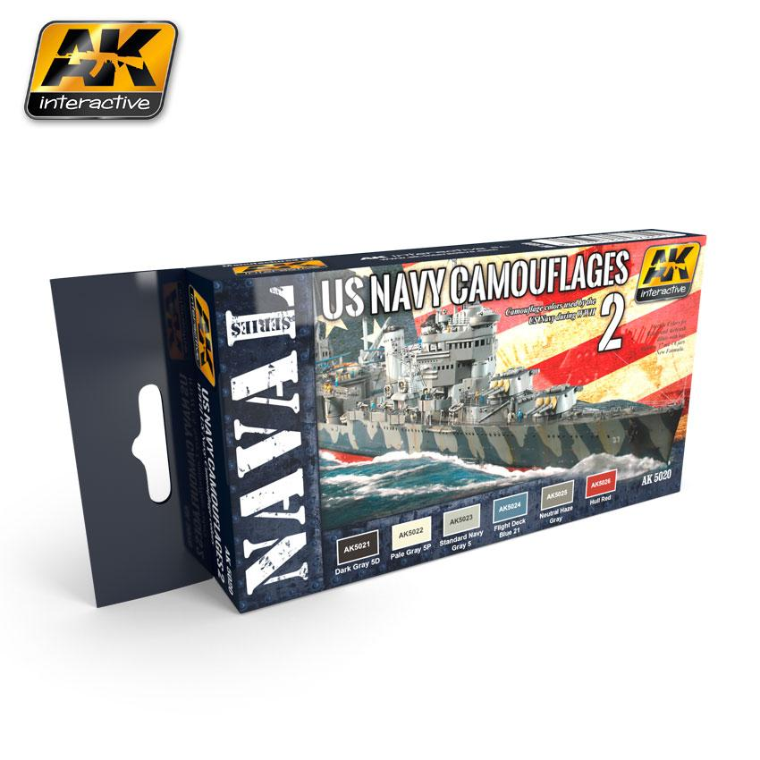 AK Interactive - US Navy Camouflages Vol.2