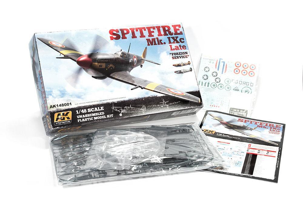 AK Interactive Kits 1:48 - Spitfire Mk IX.C Late