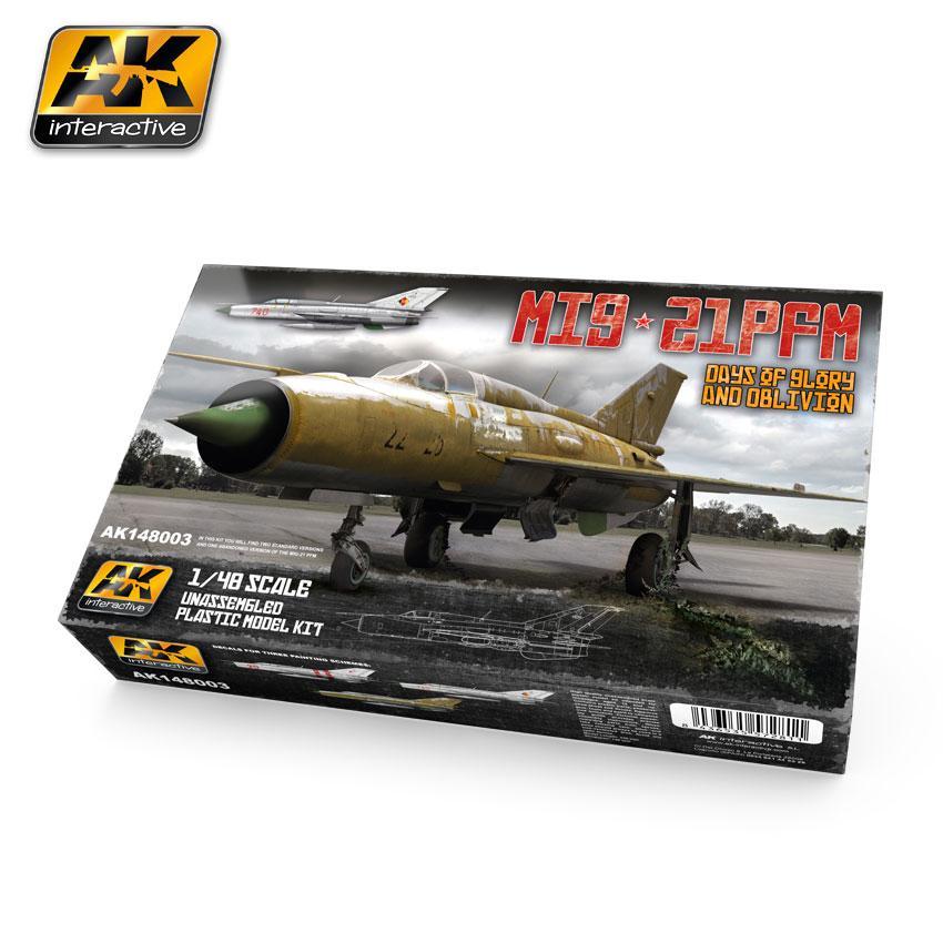 AK Interactive Kits 1:48 - MIG-21 PFM Days Of Glory