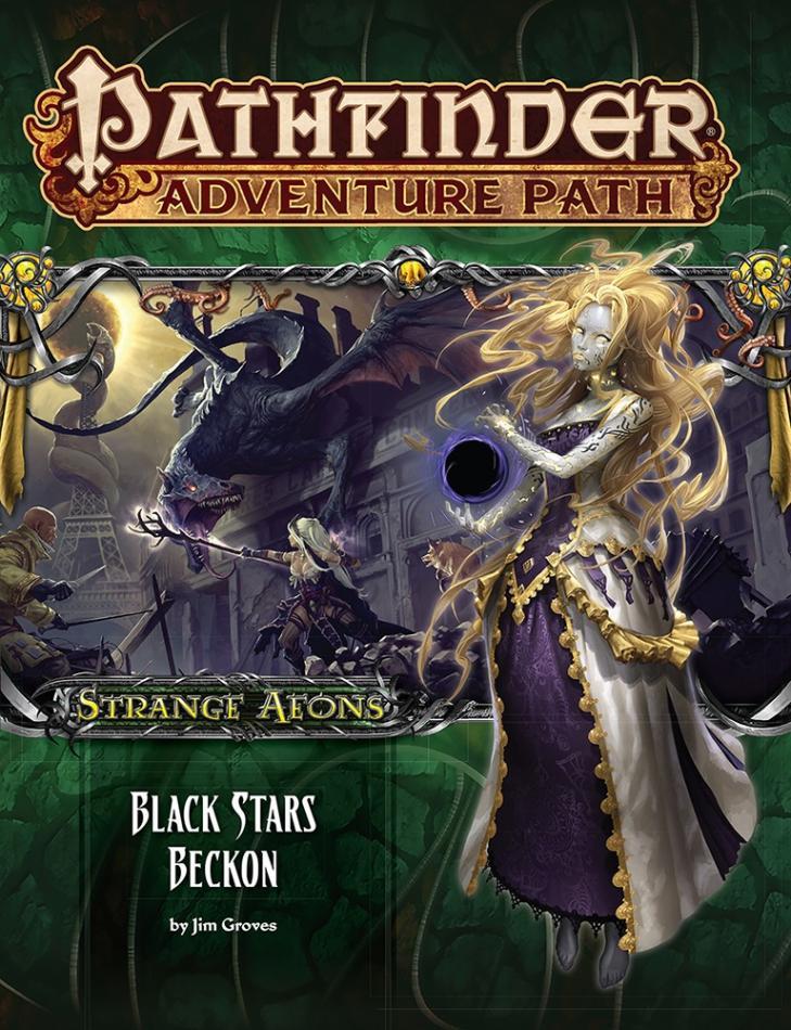Black Stars Beckon (Strange Aeons 6 of 6): Pathfinder Adventure Path #114