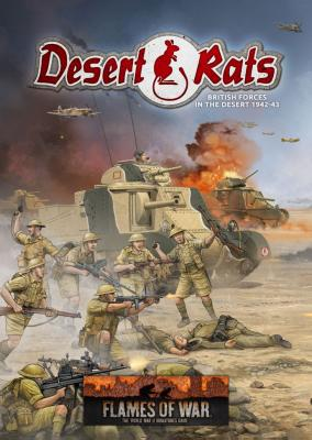 Desert Rats Army Book (MW A4 HB 48p)