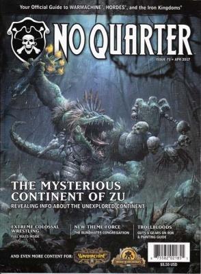 No Quarter Magazine, Issue #71
