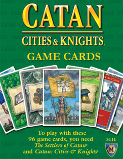 Cities & Knights Game Cards: Catan Accessories
