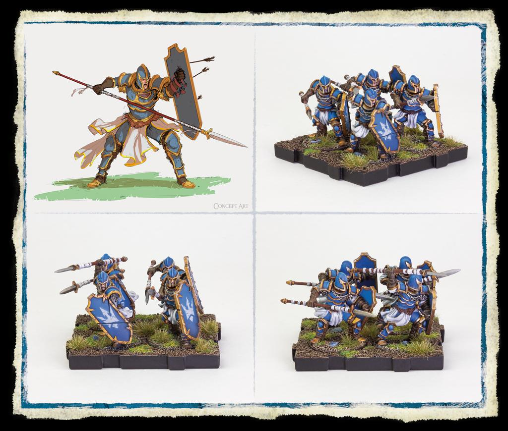 Spearmen Expansion Pack: Runewars Miniatures Game