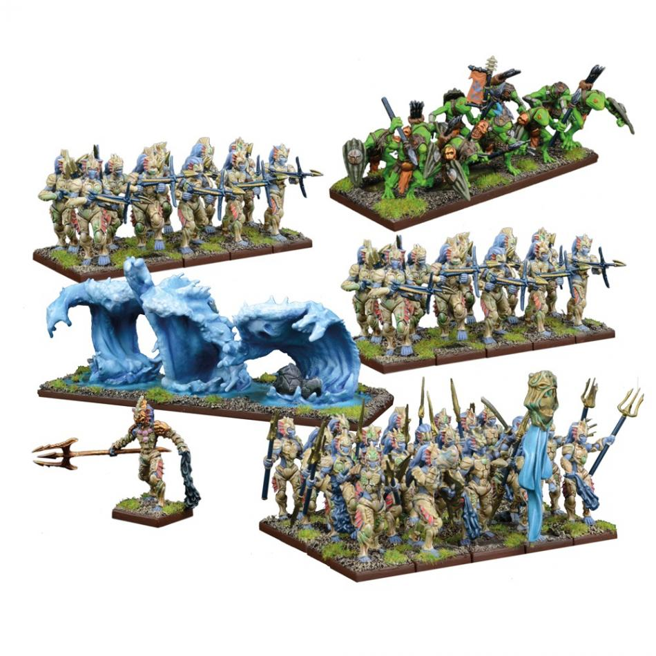 Trident Realms of Nauritica Army