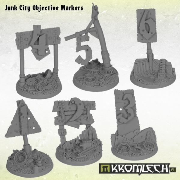 Junk City Objective Markers (6)